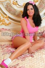 Slender Figure And Flawless Olive Complexion Escort Blanka Dubai